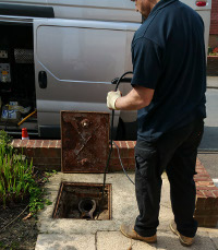 Drain clearance in Nunhead